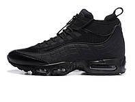 "Зимние мужские кроссовки Nike Air Max 95 Sneakerboot ""Black"""