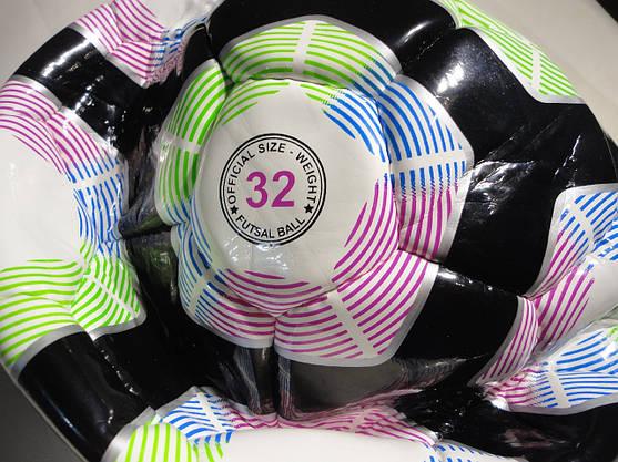Мяч для футзала №4 PREMIER LEAGUE FB-5397-3, ламин. низкий отскок, фото 3