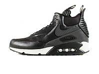 "Зимние мужские кроссовки Nike Air Max 90 Sneakerboot ""Black"" Winter"