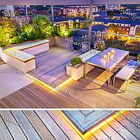 Строительство террас — крытая терраса из дерева с остеклением