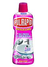 Засіб від вапняного нальоту з натуральним оцтом Pulirapid AntiCalcare Aceto 750ml