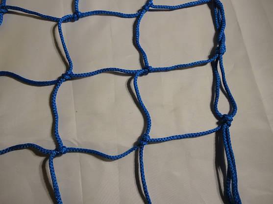 Сетка для футбольных ворот  футбольная D.4,5. 12см. ячейка, 1,5м. глубина. Элит 1.5, фото 3