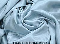 Ткань креп- сатин голубой
