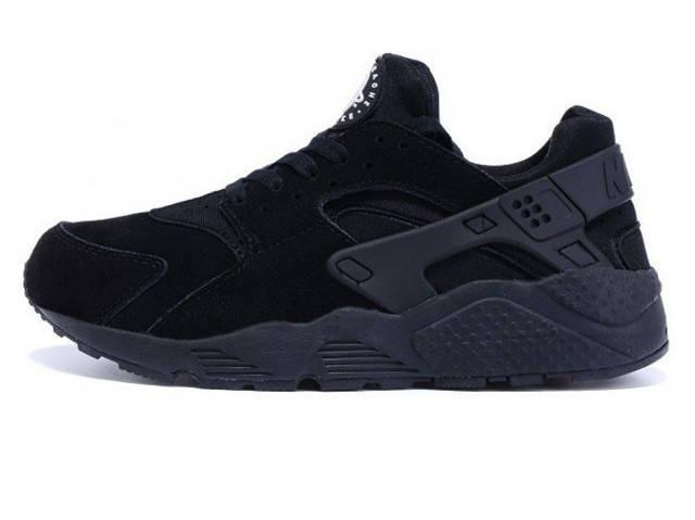 29fa3718d409 Зимние мужские кроссовки Nike Air Huarache All Black