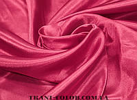 Ткань креп- сатин малиновый
