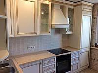 Встроенная кухня из массива ясеня 3