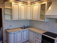 Встроенная кухня из массива ясеня 4