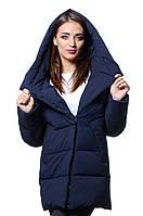 Куртка женская зима ICEBEAR 17G6508 Т.синий