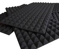 Акустический поролон Пирамида 100мм |2 х 1 м|