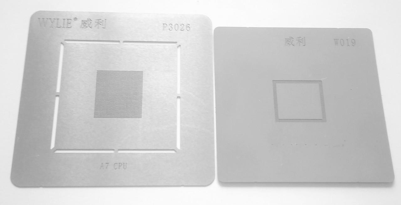 BGA-трафарет A7 RAM+CPU для мобильного телефона Apple iPhone 5S