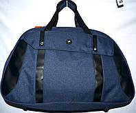 Женская дорожная сумка из текстиля 52*34 (синий), фото 1