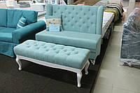 Мягкая мебель для кухни кафе или ресторана (Бирюзовая)