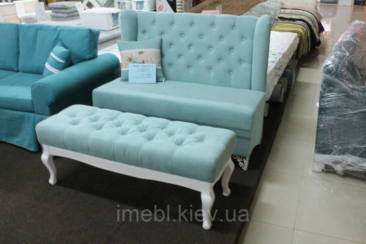 мягкая мебель для кухни кафе или ресторана бирюзовая на заказ