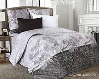 Двуспальное постельное белье Бонсай, белорусская бязь 100%хлопок