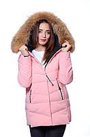 Куртка женская зима JARIUS 17-019 РОЗОВЫЙ