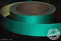 Светоотражающая сигнальная лента Heskins самоклеющаяся Зелёный (H6601G), 50 мм.
