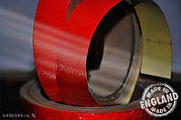 Светоотражающая сигнальная лента Heskins самоклеющаяся Красный (H6601R), 25 мм.