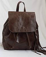 Женский рюкзак из итальянской лакированной кожи