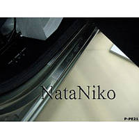 NataNiko Накладки на пороги для PEUGEOT Partner II '08- (Комплект 4 шт.)