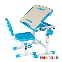 Комплект парта для рисования и стул Bambino Blue