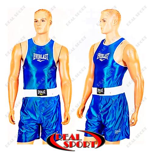 Форма для бокса детская Everlast CO-6337-B (PL, р-р S-XL, синий)
