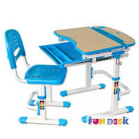 Комплект парта- трансформер и стул Sorriso Blue