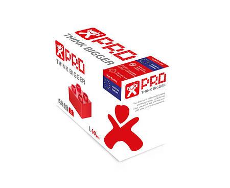Конструктор Nobi PRO 2x2 красный 60 деталей