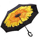 Стильный зонт наоборот ЗЖ1018, фото 3