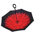 Стильный зонт наоборот ЗЖ1018, фото 4