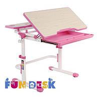 Растущая парта для девочки FunDesk Lavoro L Pink