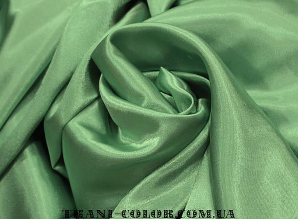 Ткань креп- сатин олива, фото 2