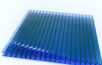 Сотовый поликарбонат Sunnex 2,1* 6 м 4 мм Синий