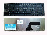 Оригинальная клавиатура для ноутбука ASUS A52, K52, X54, N53, N61, N73, N90, P53, X54, X55, X61, rus, black