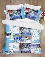Комплект постельного белья Le Vele Dream Spring series сатин 220-200 см