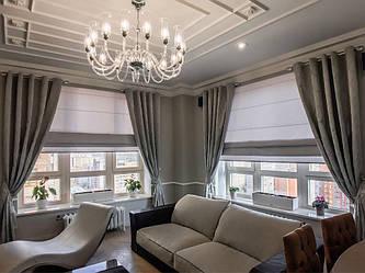 Декор для городской квартиры в серых тонах