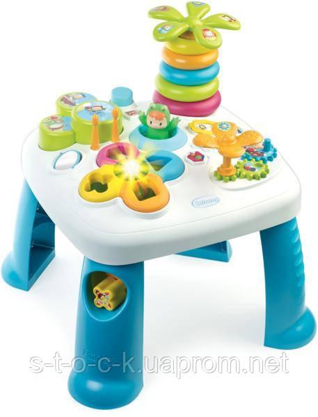 Стол развивающий игровой Smoby Cotoons 211067