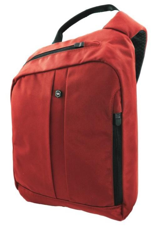 Наплечная сумка Victorinox TRAVEL ACCESSORIES 4.0/Red  с RFID защитой на 8 л, цвет - красный  Vt311737.03