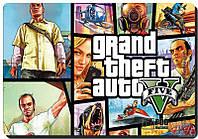 Коврик игровой Podmyshku GAME GTA 5 М