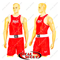 Форма для бокса детская Everlast CO-6337-R (PL, р-р S-XL, красный)