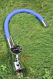 Смеситель для кухни Germece 37 OP Blue гибкий излив, фото 3