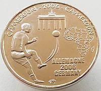 Камерун 1500 франков 2006 - Чемпионат мира по футболу 2006 -Бранденбургские ворота