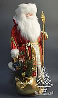 Дед Мороз 67 см золотой 0366