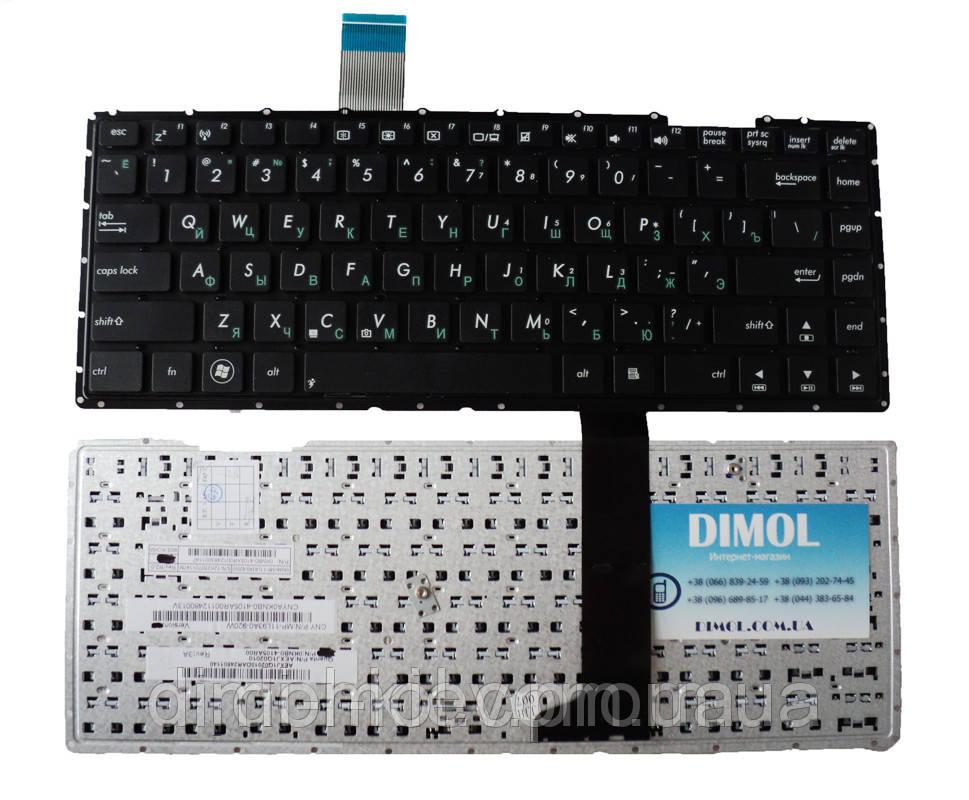 Оригінальна клавіатура для Asus X401 rus, black