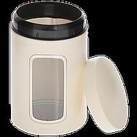 Контейнер для зберігання сипучих продуктів з вікном 1,4 л Brabantia 380341/3, фото 1