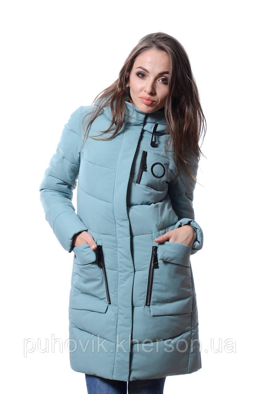 680bb0eea0b Куртка женская зимняя Meajiateer M17-63 МЕНТОЛ  продажа