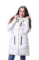 Куртка женская зимняя Meajiateer M17-63 БЕЛЫЙ