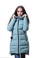 Куртка женская зимняя Meajiateer M17-99 МЕНТОЛ
