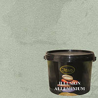 Illusion Aluminium (Иллюзион Алюминий декоративная краска) Эльф Decor