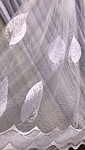 Тюль жаккард высота 2.8м SELMER, фото 2
