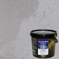 Декоративная штукатурка Эльф-Декор Illusion Crystall- Гладкое покрытие с перламутровым покрытием